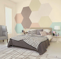 Decorating bedroom with pastel colors