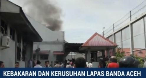 Kributan oleh sejumlah Napi di Lapas Klas II A Banda Aceh