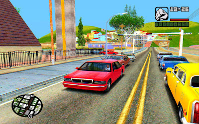 GTA San Andreas Ultra Realistic Graphics Mod For Low End Pc