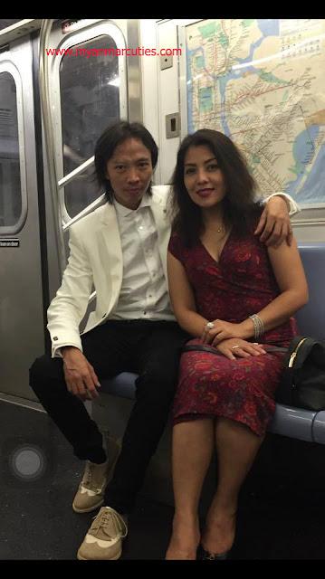 Khin Zar Chi Kyaw & Her Boyfriend 2016
