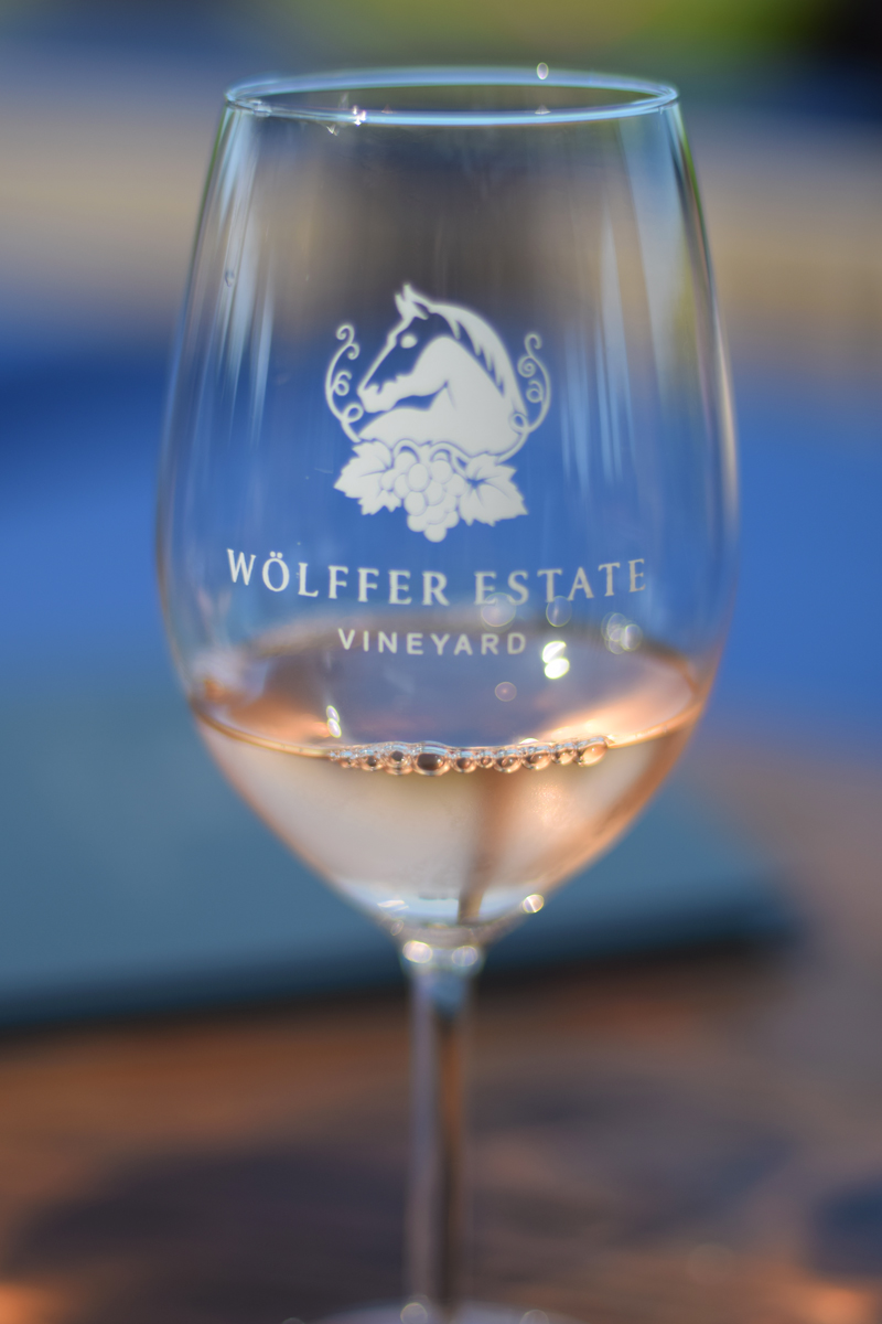 Wölffer Estate Rosé on wine tour.