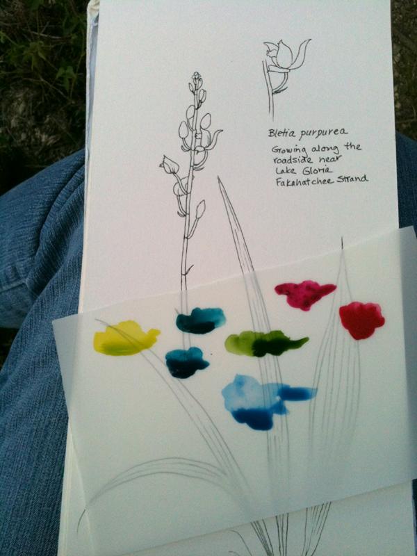 Plant Type Art Journal