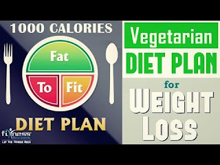 1000 calorie diet plan for fast weight loss free