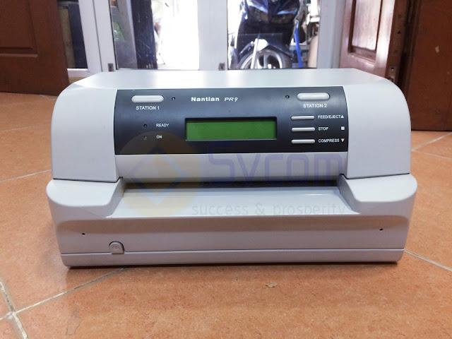 Nhà cung cấp máy in phiếu nộp tiền Nantian PR9 cho ngân hàng Nông nghiệp