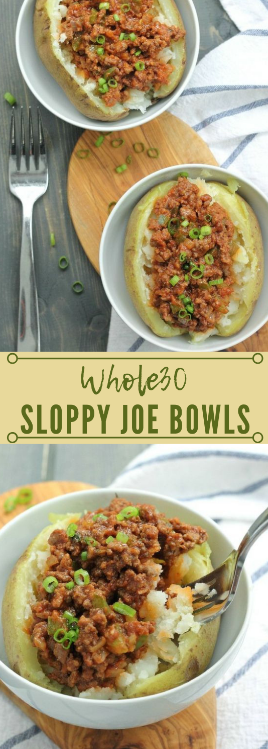 Whole30 Sloppy Joe Bowls #paleo #healthy #diet #whole30 #vegan