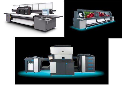 Scitex and Indigo printers