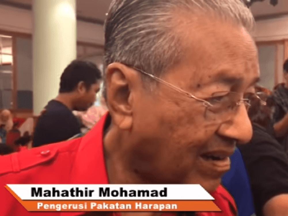Dr M menjawab Teguran TMJ senario politik negara PRU14 & UMNO
