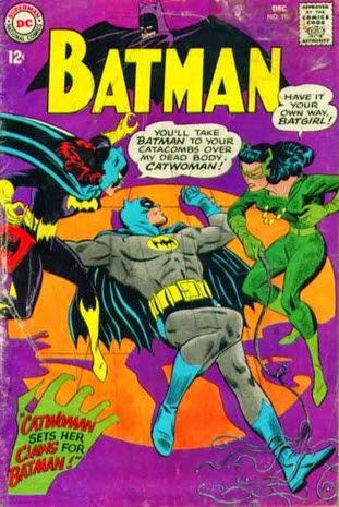 Batman 197-Catwoman Batgirl