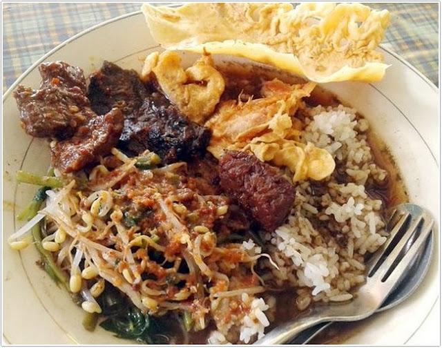 Pecel Ayu;10 Top Kuliner Banyuwangi