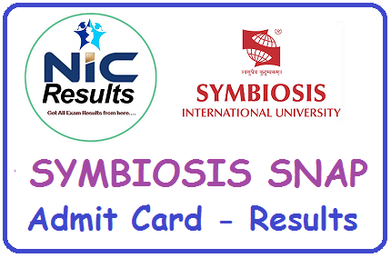 Symbiosis SNAP Results Admit Card