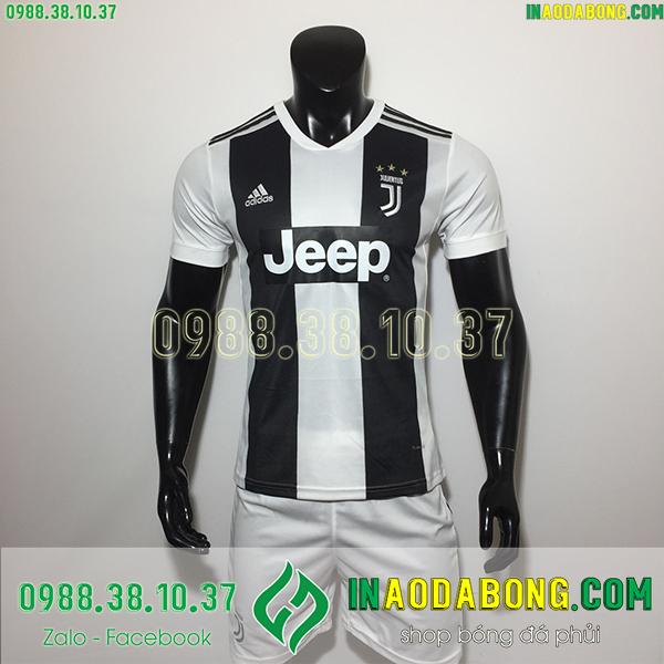 Áo bóng đá câu lạc bộ Juventus sọc trắng đen