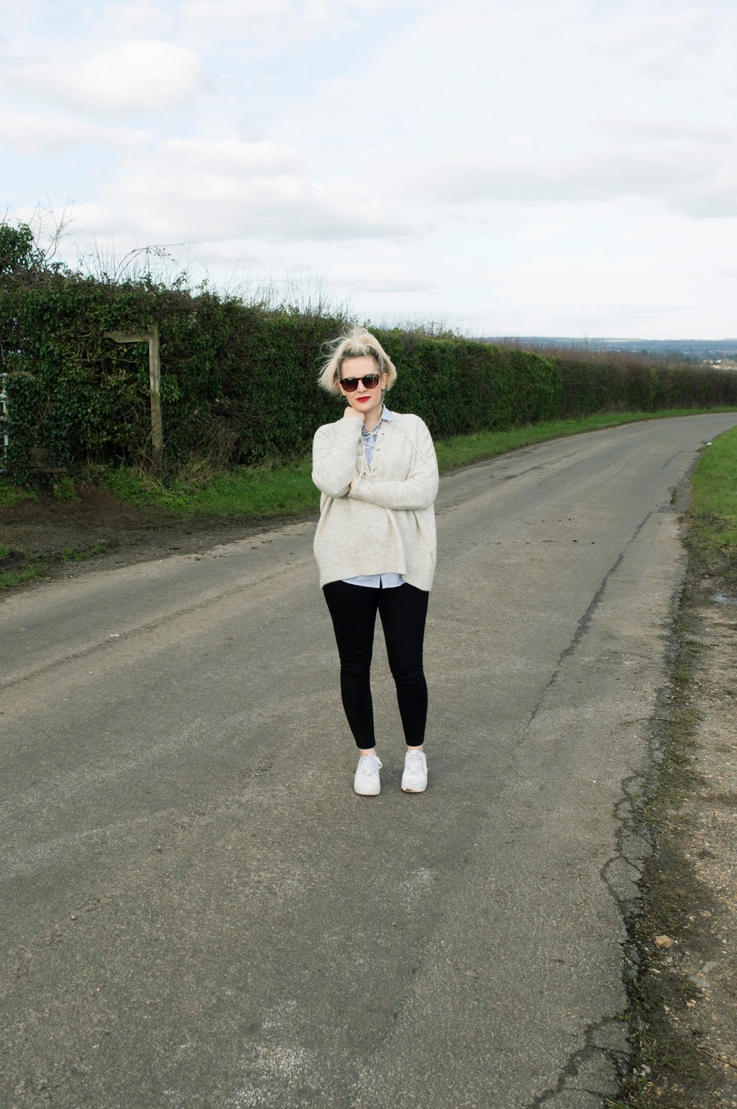 diary of a brit girl primark nike outfit