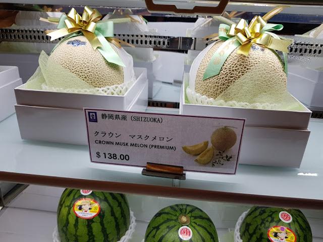 Frutta al Takashimaya Food village-Singapore