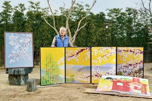 Salah satu hasil lukisan Kakek Tatsuo Horiuchi dengan Ms Excel