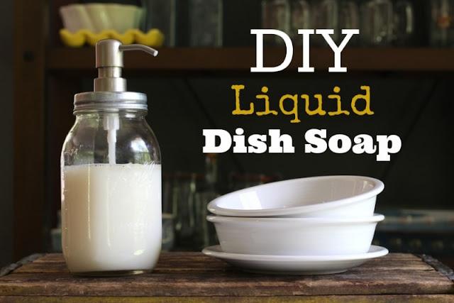 DIY Liquid Dish Soap