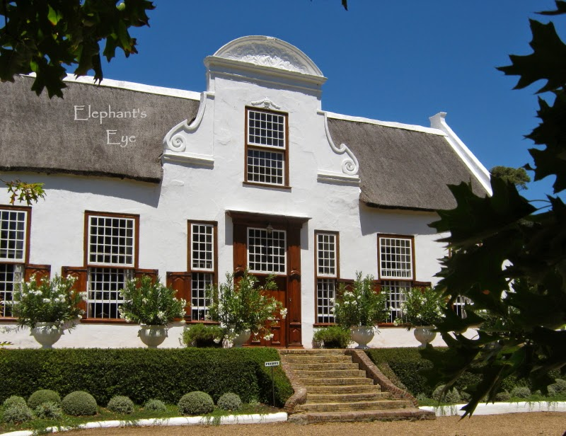 Stellenberg's Cape Dutch gable