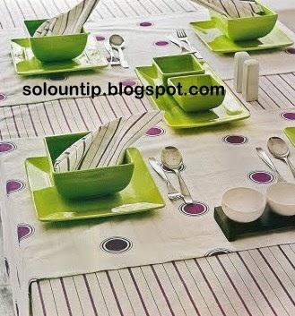 Como hacer manteles y caminos de mesa for Como hacer caminos de mesa modernos