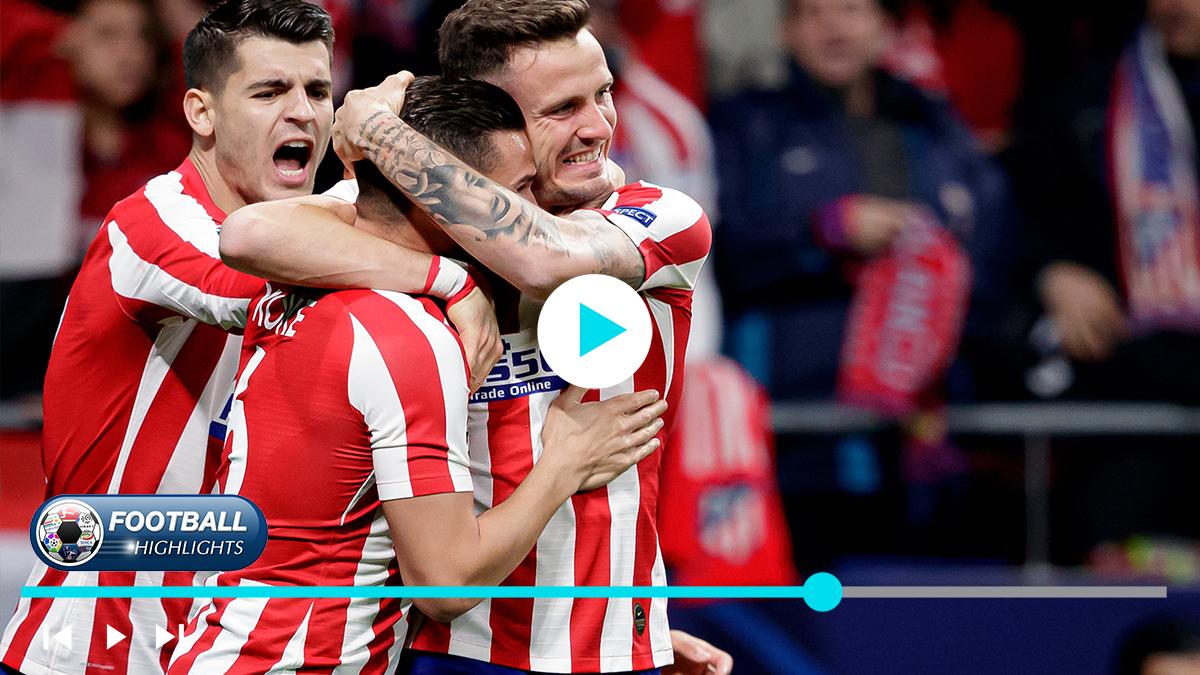Atl U00e9tico Madrid Vs Liverpool Highlights