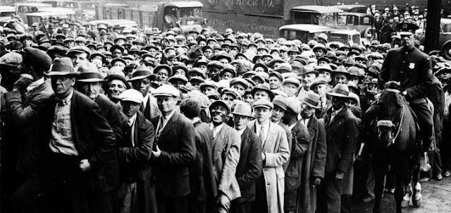 Безработица в США будет как при Великой Депрессии
