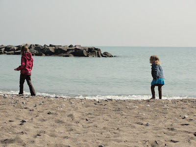 the beach in Toronto