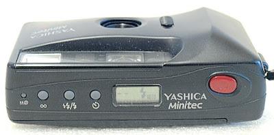 Yashica Minitec AF, Top