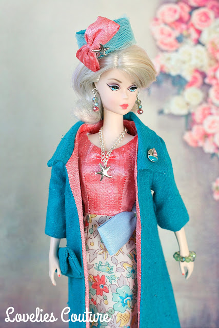 Ooak Silkstone Vintage Barbie Couture Fashions