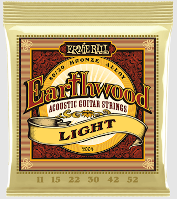 Senar Gitar Akustik Ernie Ball Earthwood Extra Light