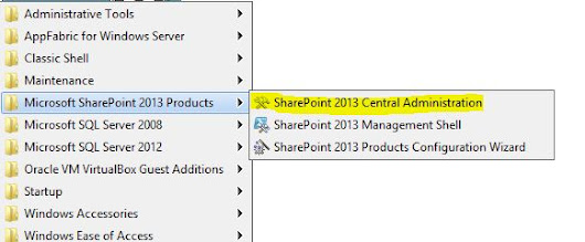 SharePoint 2013 Central Administration Ribbons Grayed Out