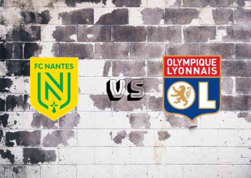 Nantes vs Olympique Lyon  Resumen