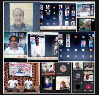 #JaunpurLive : कोरोना जैसी खतरनाक बीमारियों से बचने के लिए नियमित रूप से करें योग: डॉ. श्रोती