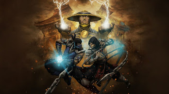 Mortal Kombat, Raiden, Sub-Zero, Scorpion, 4K, #4.1926