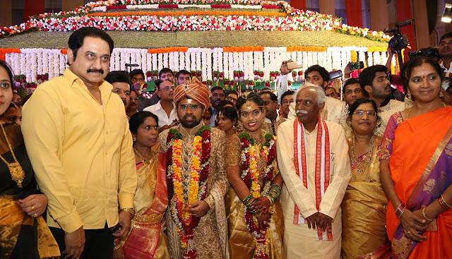 Celebrities at Bandaru Dattatreya Daughter Vijayalaxmi Wedding Photos