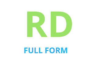 What is the full form of RD || FULL FORM OF RD