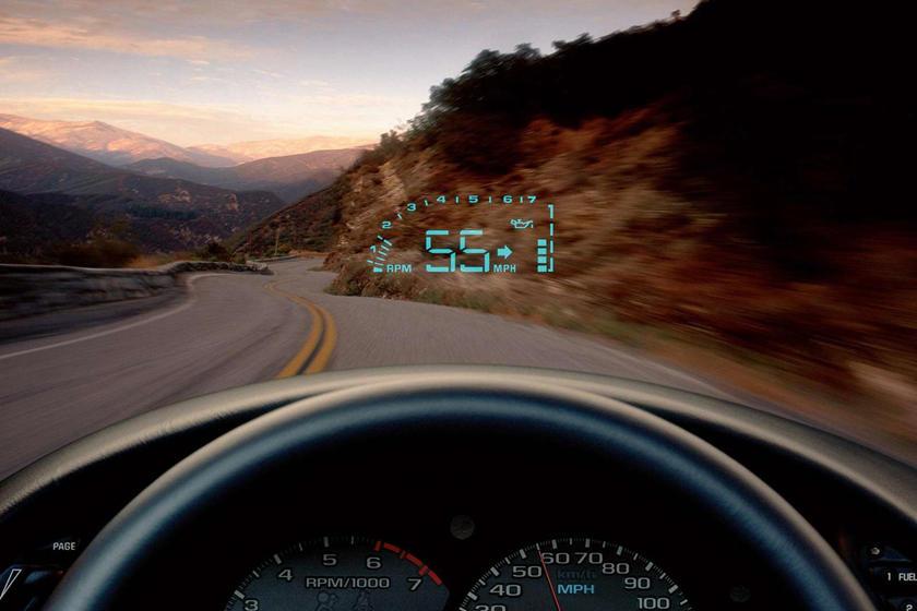 Hiển thị thông tin trên kính lái (HUD)