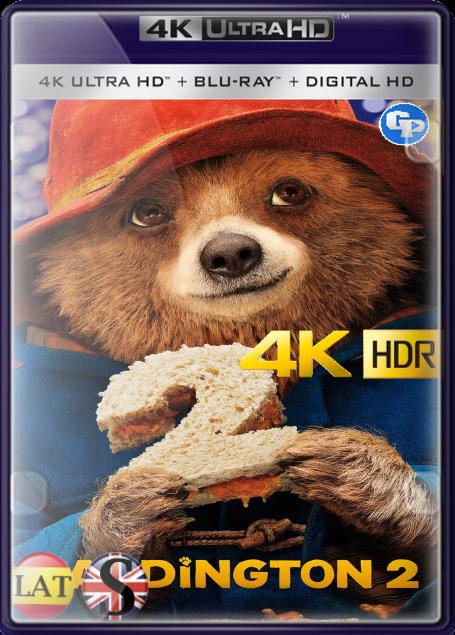 Paddington 2 (2017) 4K HDR LATINO/INGLES