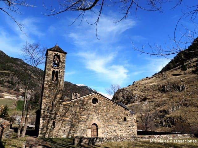 Iglesia de Sant Martí de la Cortinada, Ordino, Andorra
