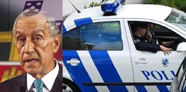 Presidente colocado em segurança no hotel Albatroz durante assalto de gang a loja com 5 feridos em Cascais