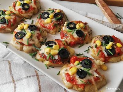 Patatas pizza al horno