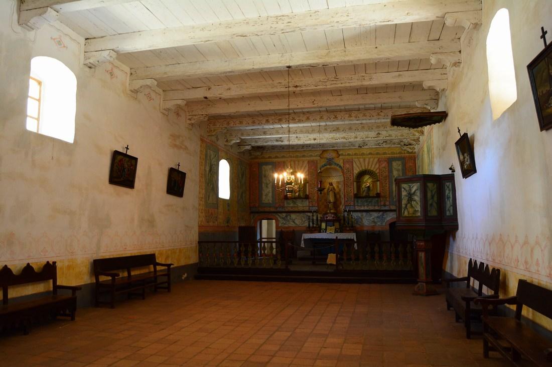 Une des deux chapelles de la mission Purissima