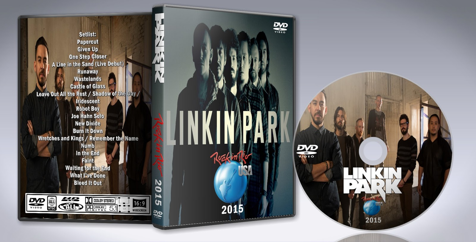 Deer5001RockCocert : Linkin Park - 2015 - Rock In Rio USA
