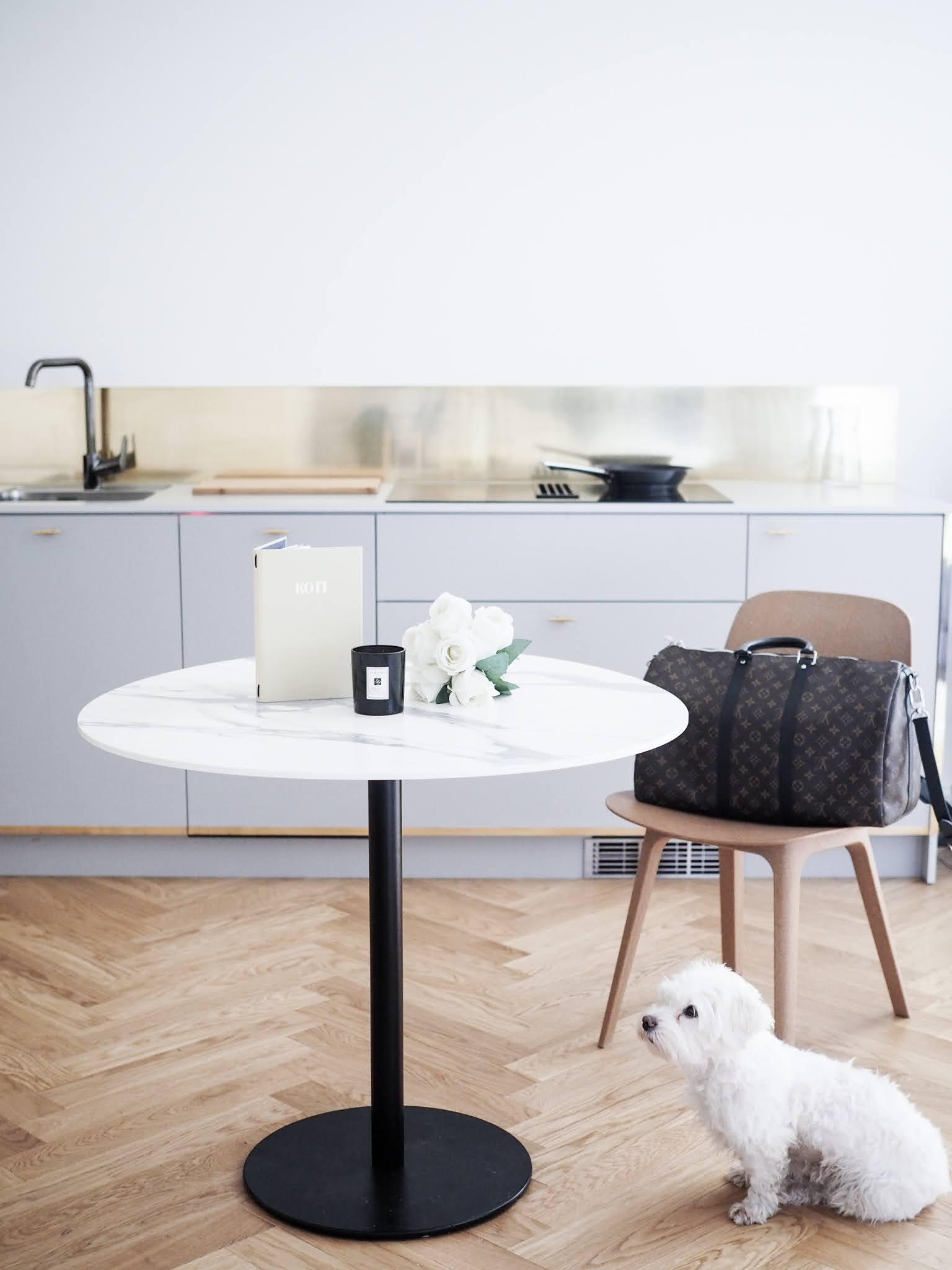Väliaikainen koti Helsingissä