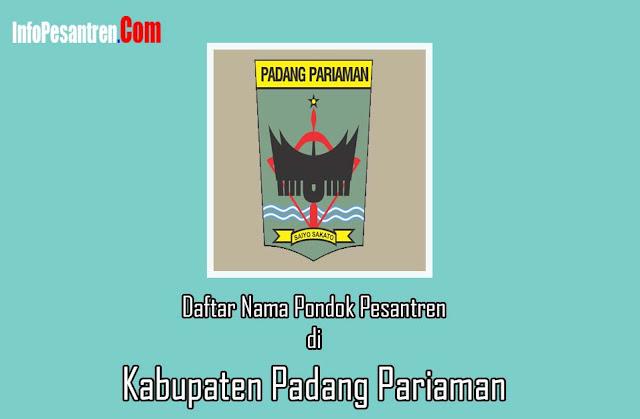 Pesantren di Kabupaten Padang Pariaman