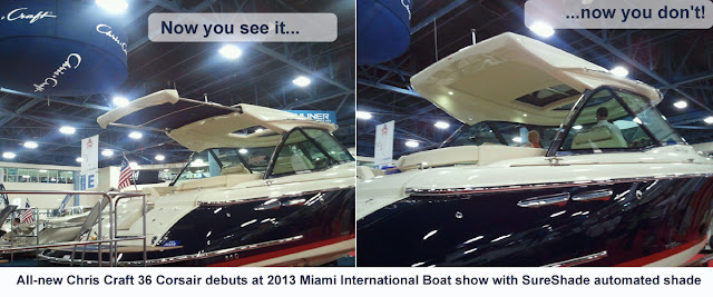 2016 Chris-Craft Launch 36 with Hardtop and Shade | SureShade