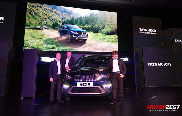 Tata Hexa India launch 2017 January