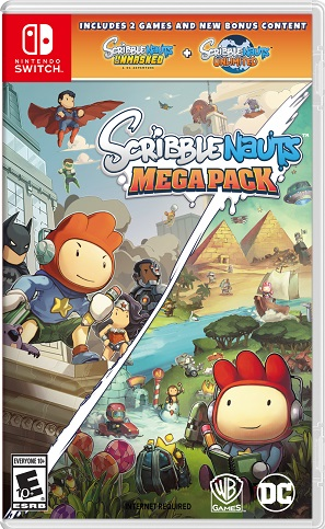 Scribblenauts Mega Pack Switch XCI - Download last GAMES FOR