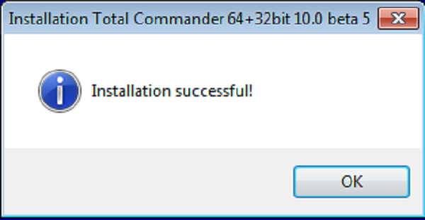 Hướng dẫn cài đặt phần mềm Total Commander 10.0 f