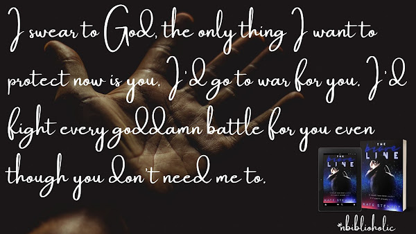 The Brave Line by Kate Stewart quote teaser