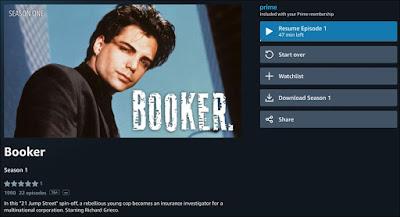 Booker on Amazon Prime