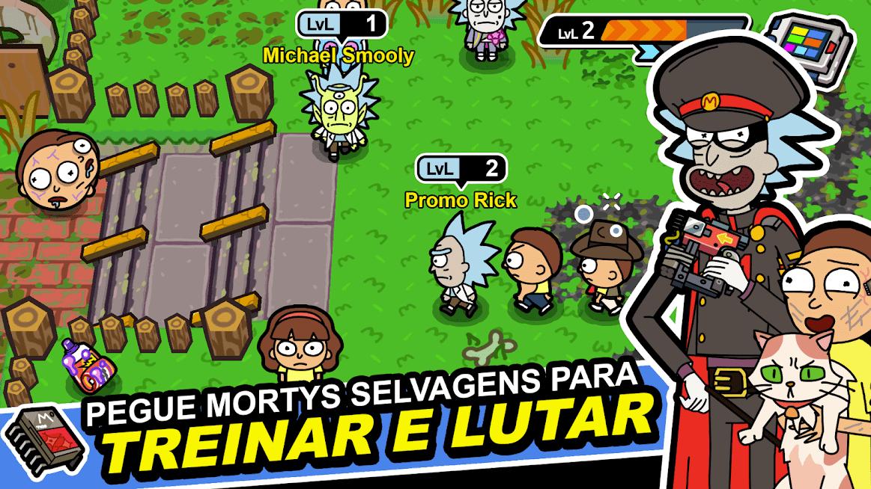 Pocket Mortys v 2.20.0 apk MOD