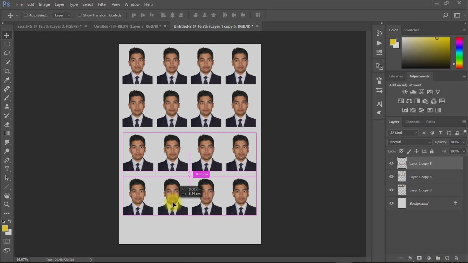 best way to create passport size photo screenshot 7
